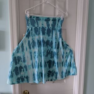 NWT Aqua Lularoe Azure skirt sz M